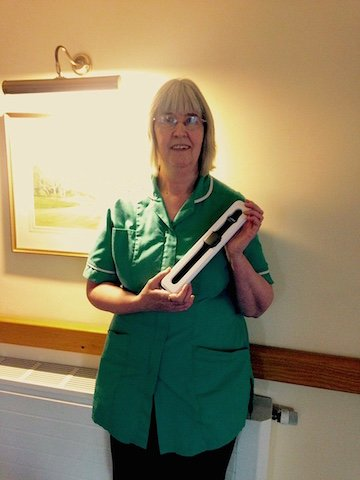 New Year Win For Care Home Manager