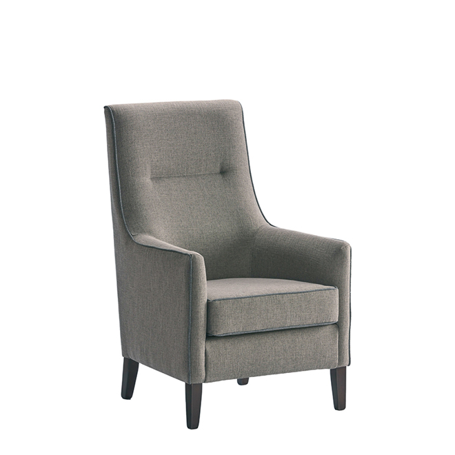 Denia high back chair