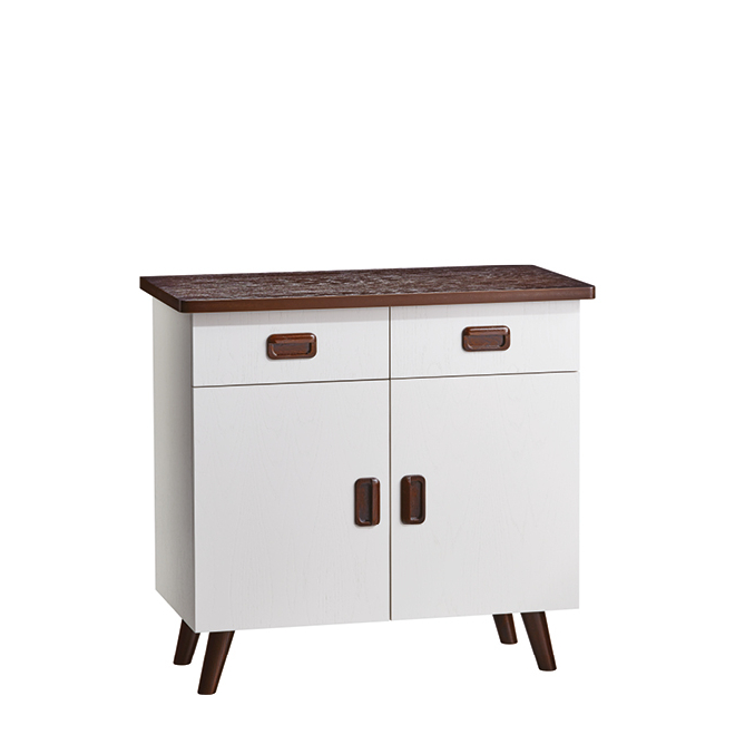 Manhattan 2 Drawer Sideboard