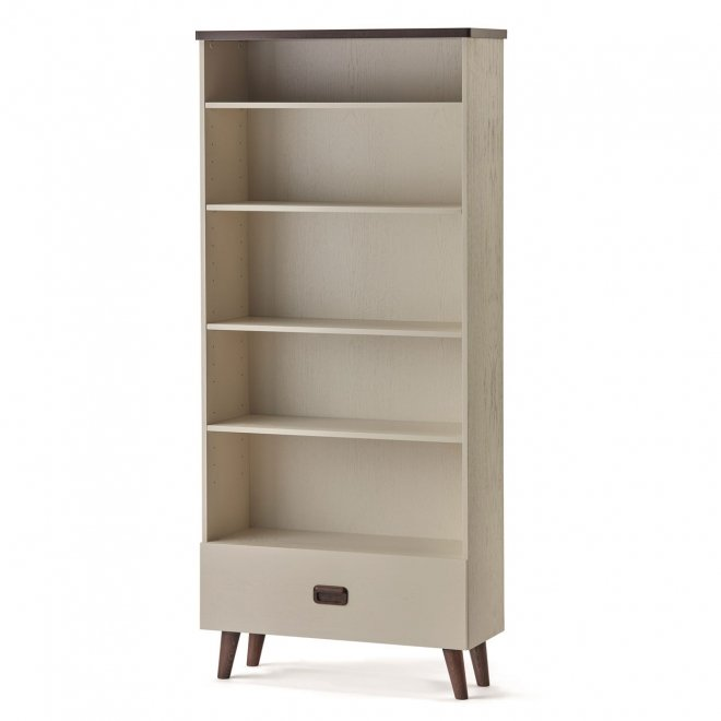 Manhattan Tall Bookcase with Drawer