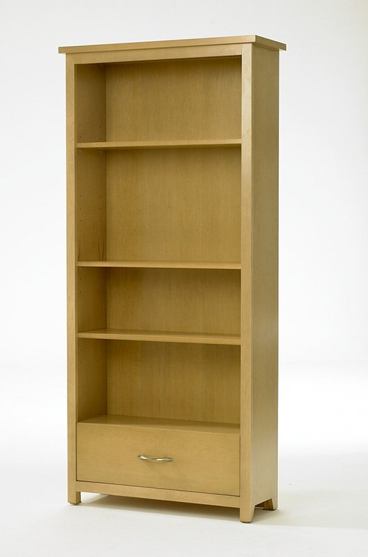 Shaker Tall Bookcase with Drawer