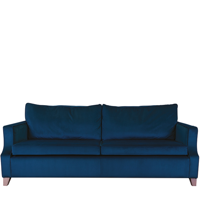 Roehampton four seater low back