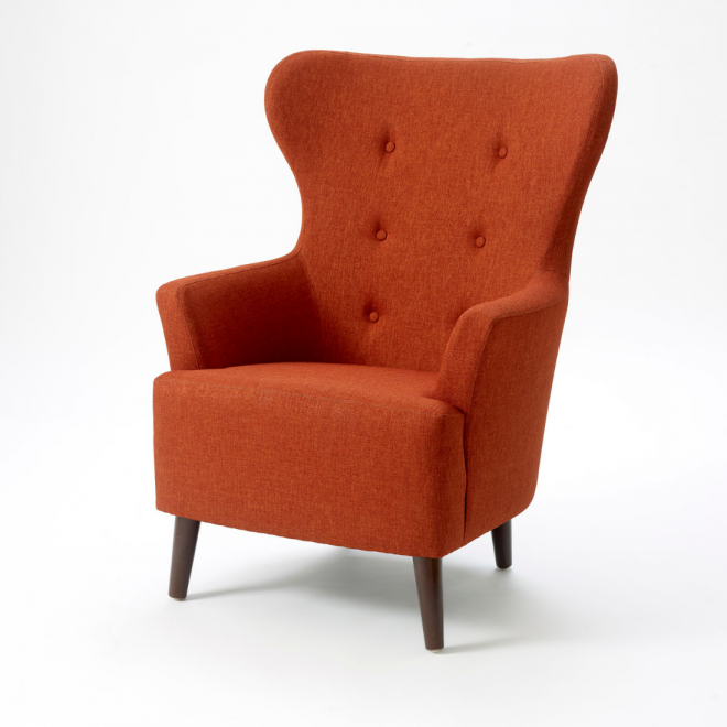 Girona wing back chair