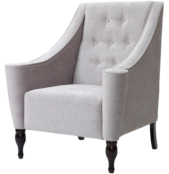 Wentworth high back fixed cushion chair