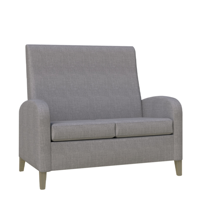 Modena two seater high back
