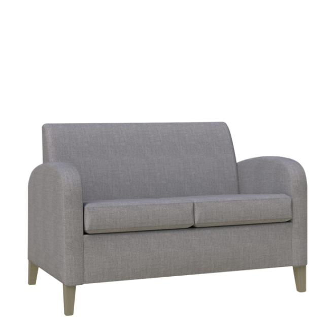 Modena two seater low back